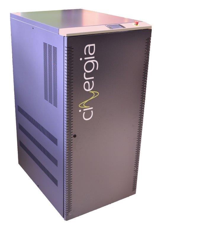 bidirectionele batterij lader B2C+ van Cinergia
